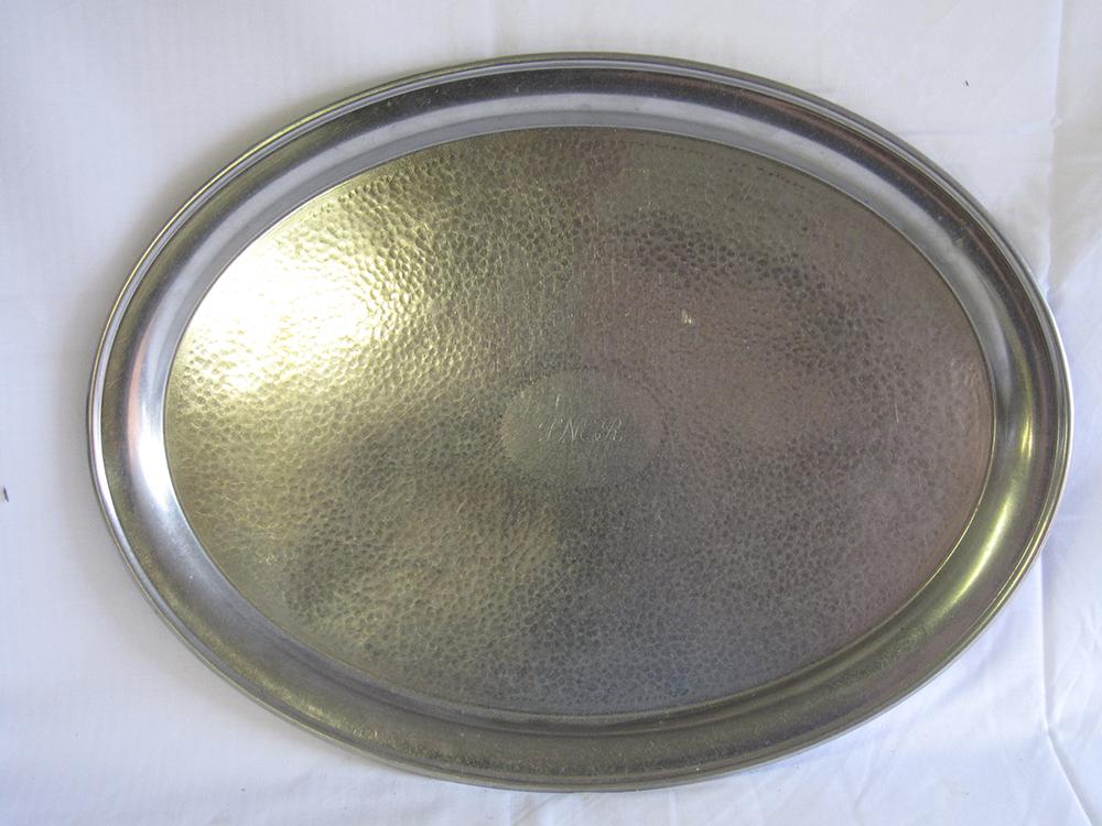 LNER EPNS Oval Tray Engraved LNER In Script