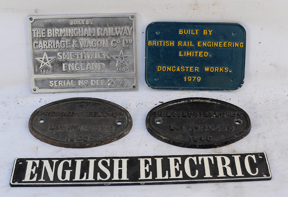 A Collection Of Builders Plates Which Include A