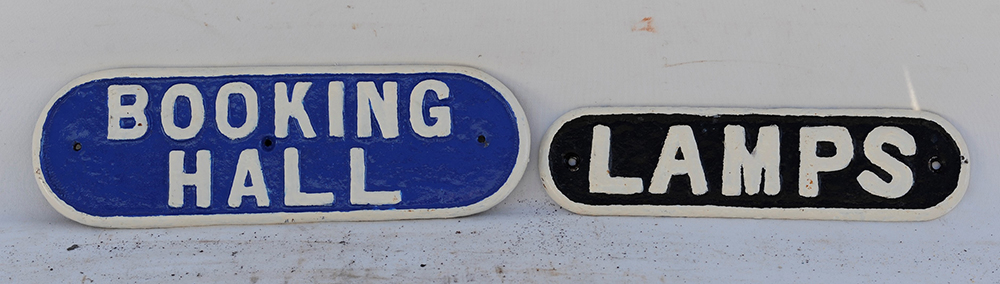 A Pair Of Reproduction LNER Style Door Plates.