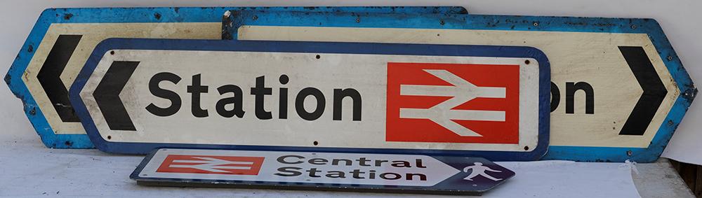 A Collection Of 4 X British Railways Aluminium
