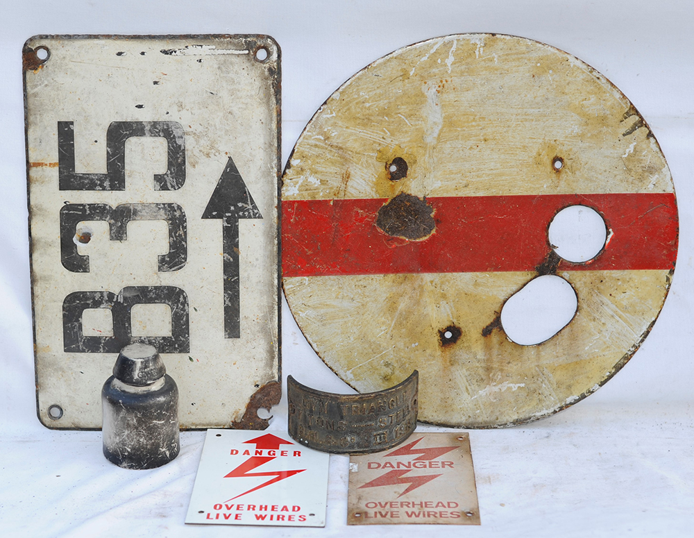 A Sundry Lot Containing Some Signalling Items Plus