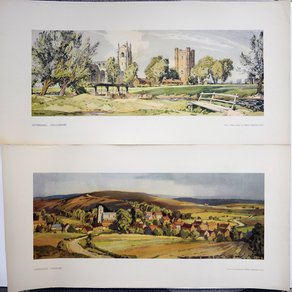 LNER  Carriage Prints x2. Lastingham Yorkshire And