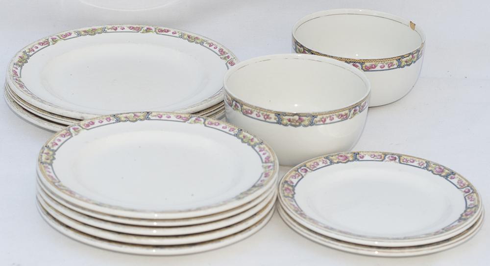 LNER Kesick China Scottish Pattern. Various Plates