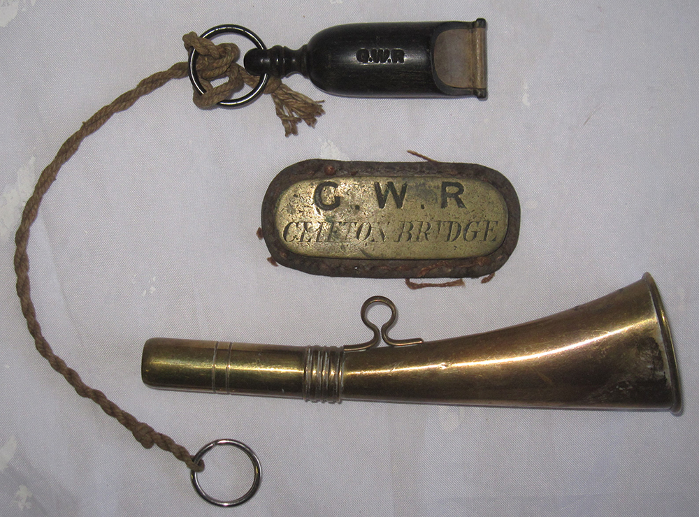 A LOT Containing A GWR Marked BONE WHISTLE And
