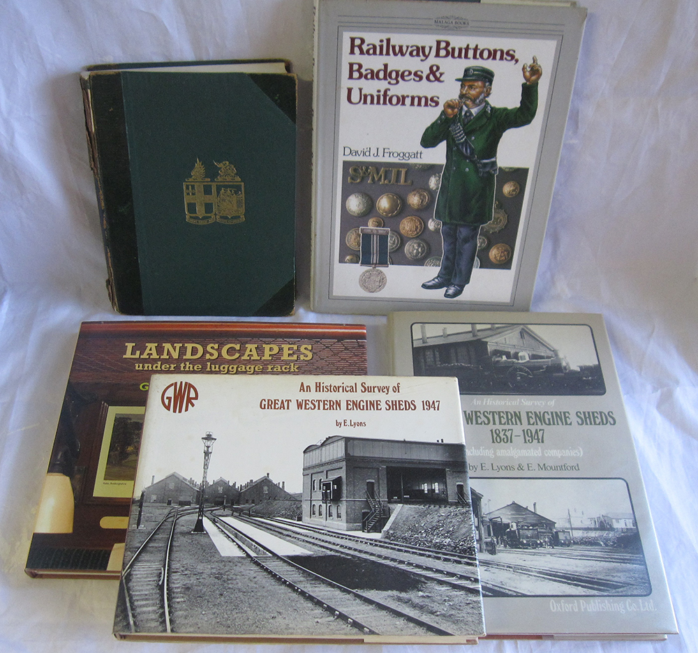 A Lot Containing 5 Books To Include A GWR Magazine