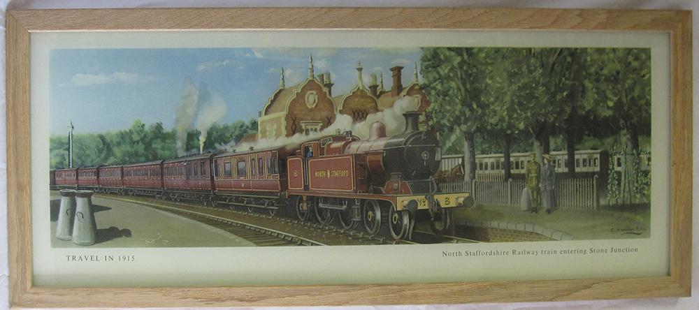Framed And Glazed Carriage Print. Hamilton Ellis