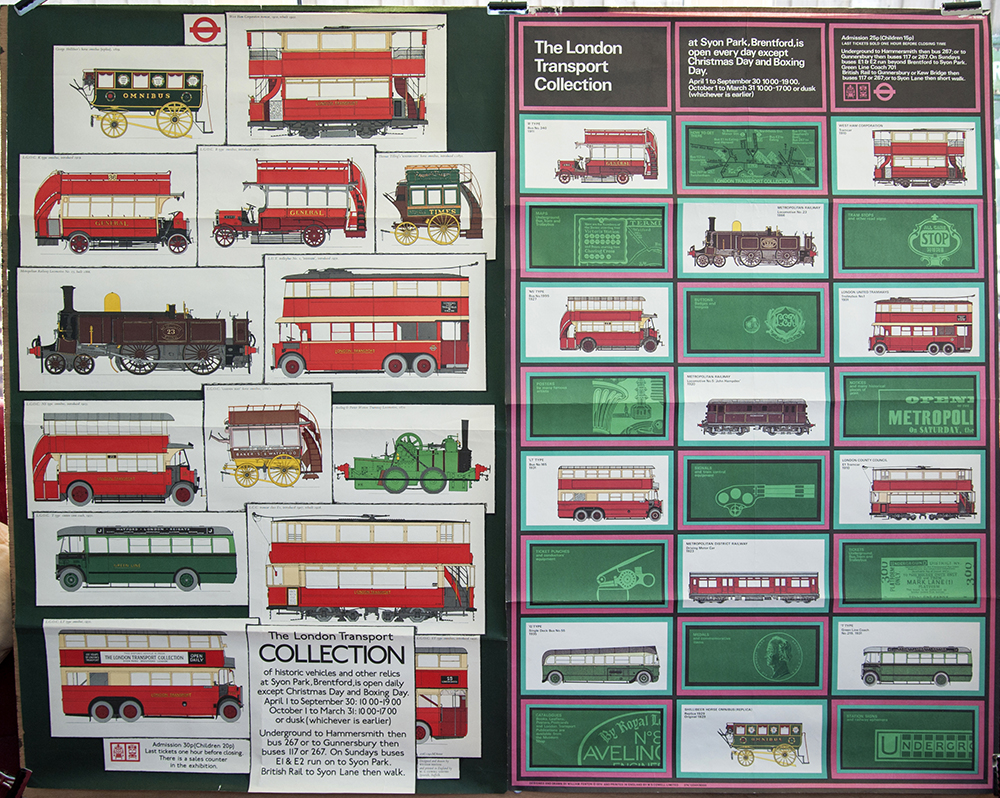 London Transport Collection Double Royal Posters