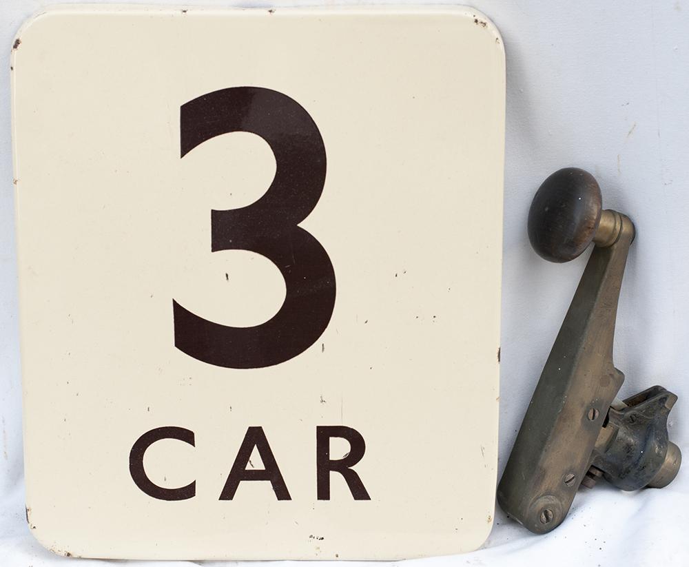 BR(W) FF Enamel 3 Car Together With A Southern EMU