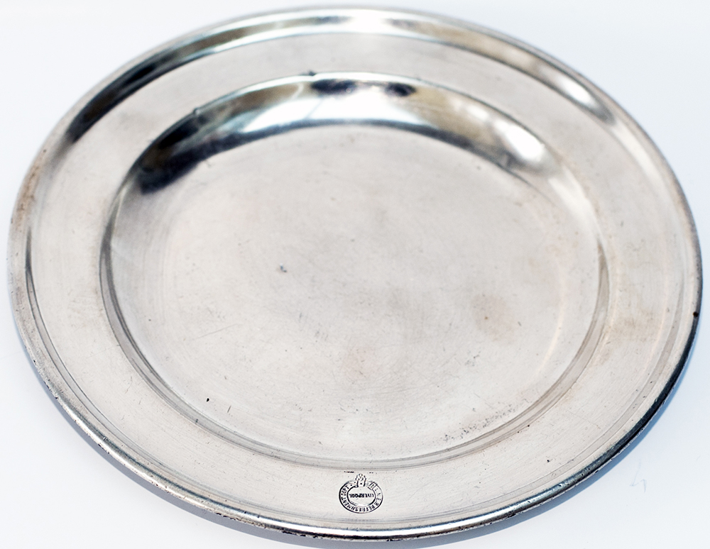 LNER Silverplate SIDE DISH Marked On The Front