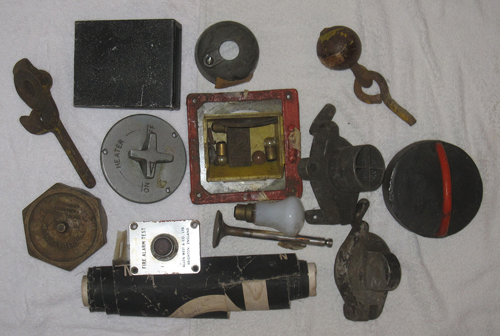 A Sundry Lot Containing Miscellaneous Railway
