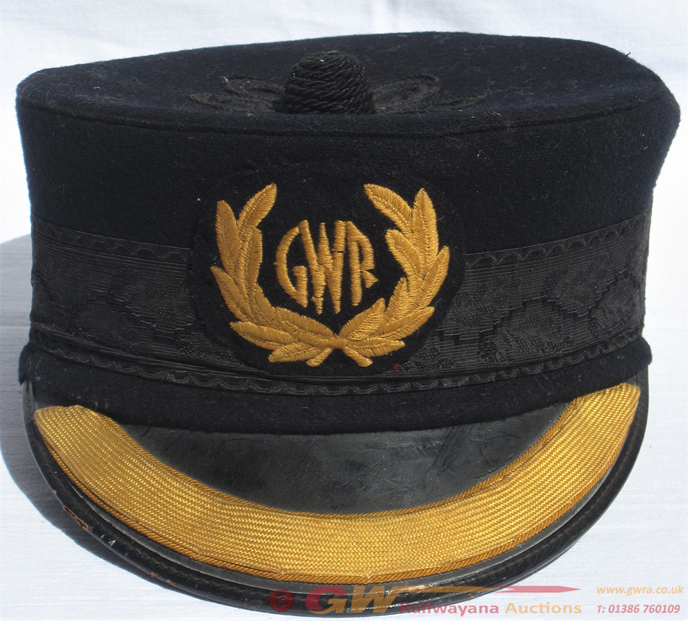 GWR Station Master's Pill Box Hat With 1930s GWR