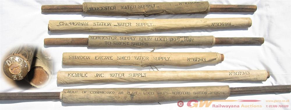 A Collection Of 6 X Original GWR Swindon Linen