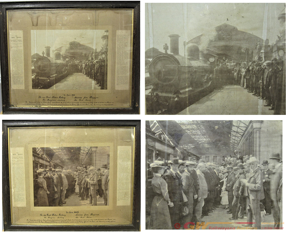 Two Official Picture Photographs In Original