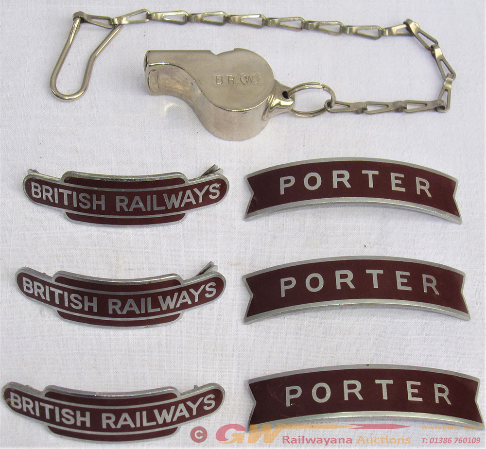 A Collection Of 6 X BR Western Region Cap Badges