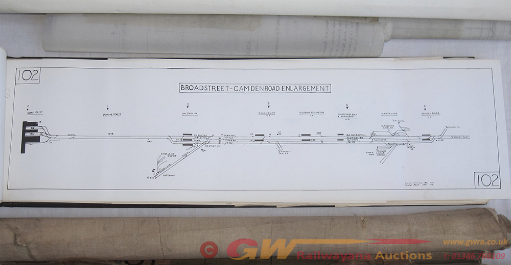 A BR/LMR Set Of Official Documents Bound Inside A