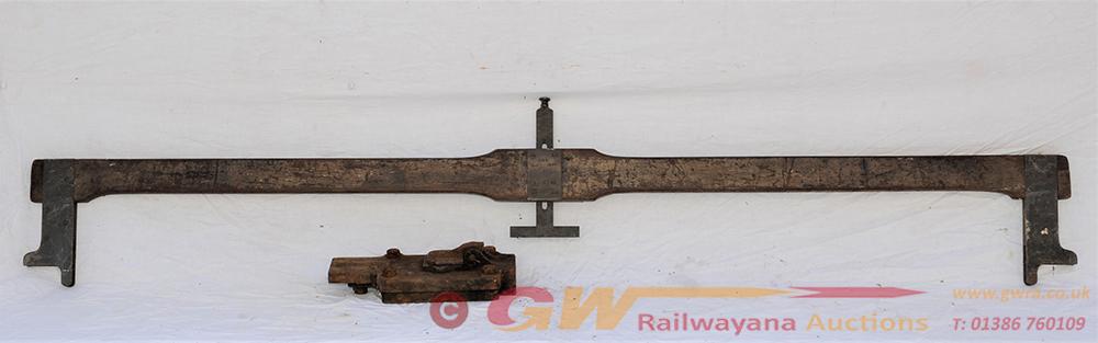 GWR Signal Lineman's AWS Adjusting Gauge. Stamped