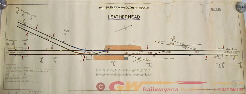 BR(S) Original SIGNAL BOX DIAGRAM Drawn On