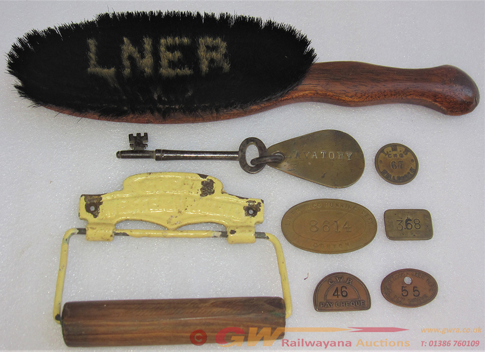 A Sundry Lot Consisting Of An LNER Clothes Brush.
