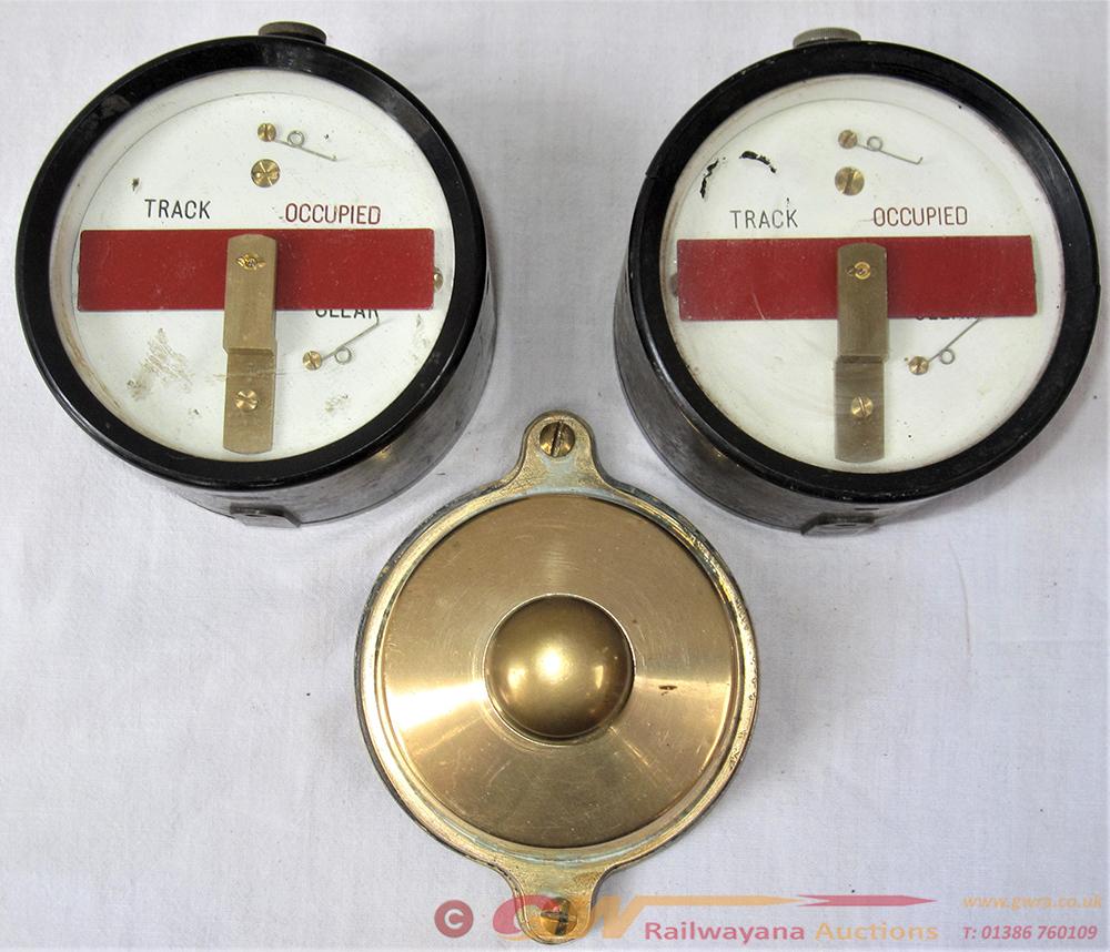 3 X Signal Box Instruments. 2 X TRACK CIRCUIT