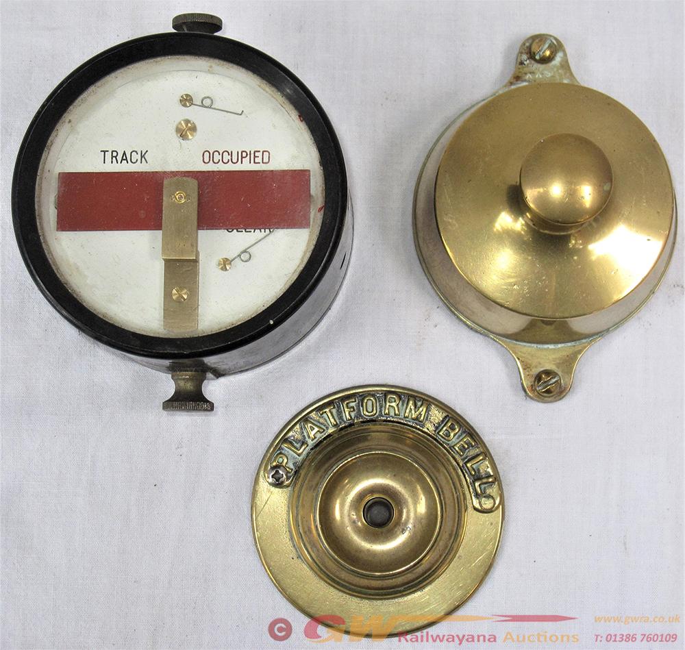 3 X Signal Box Instruments. 1 X TRACK CIRCUIT