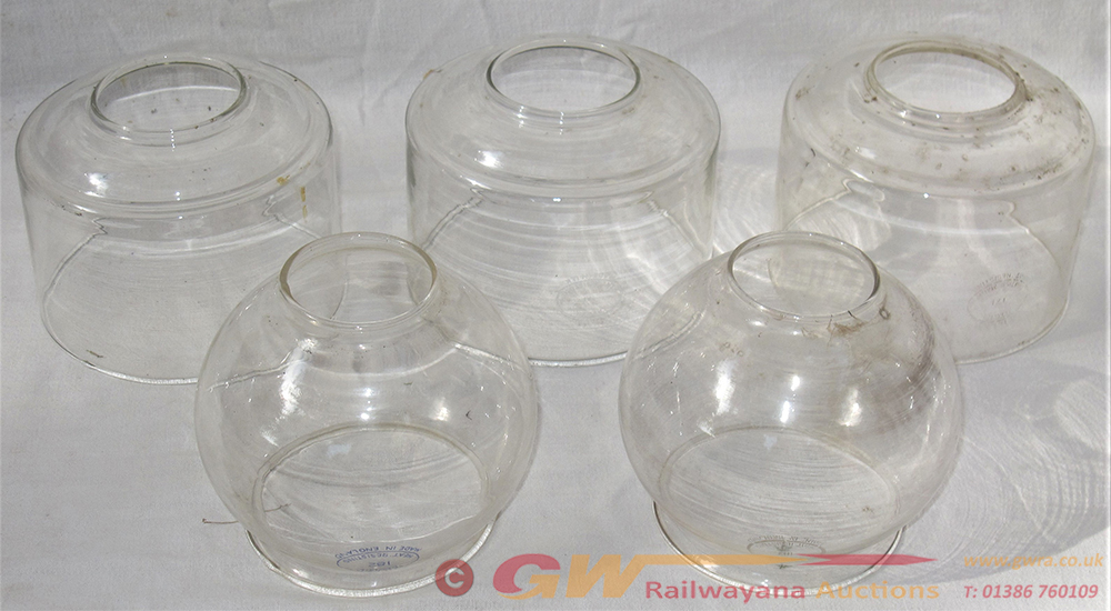 A Lot To Include 5 X Spare TILLY LAMP Glass