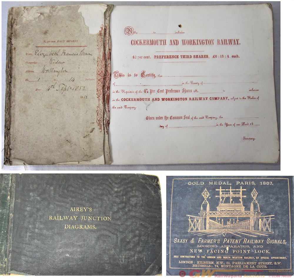 A Binder Containing A Large Number Of Un Issued