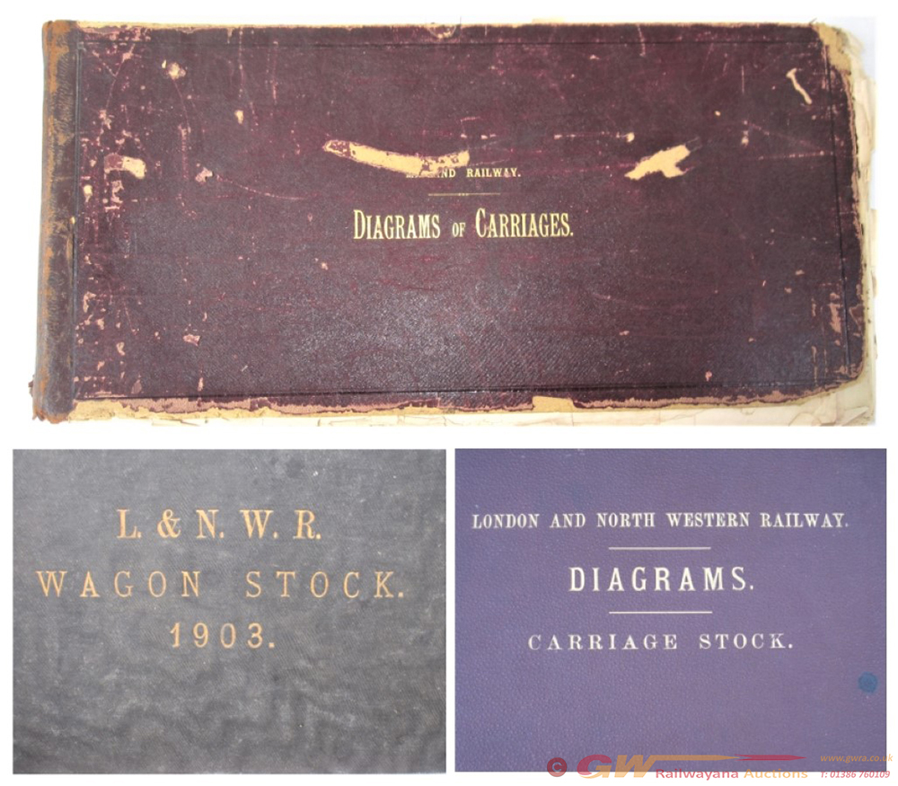 A Lot Containing 2 LNWR Official Reference