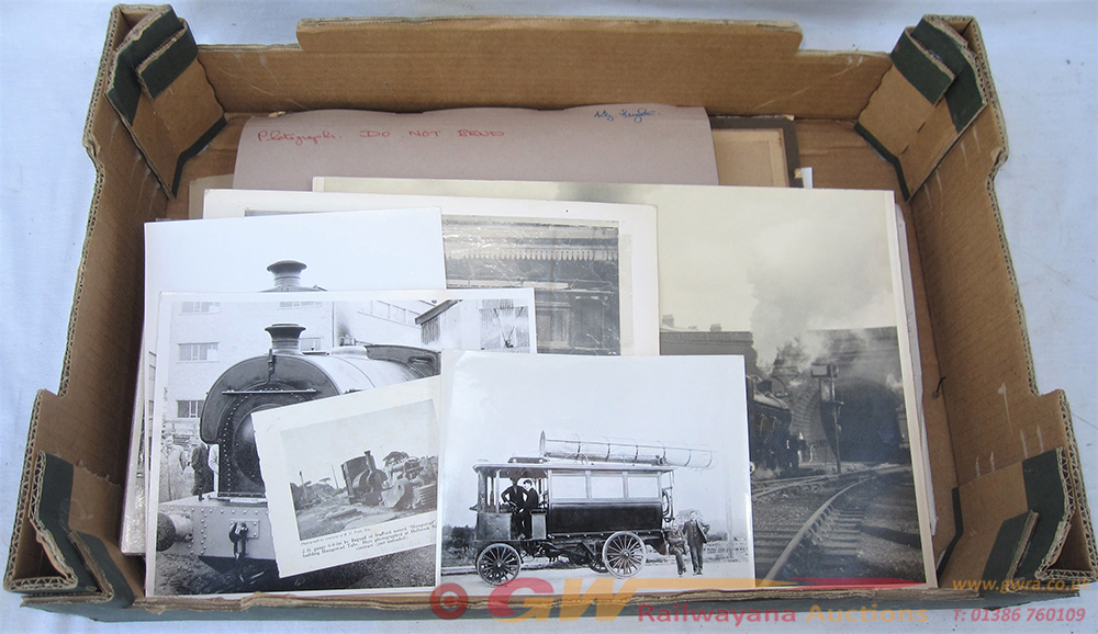 A Lot Containing A Collection Of Railway
