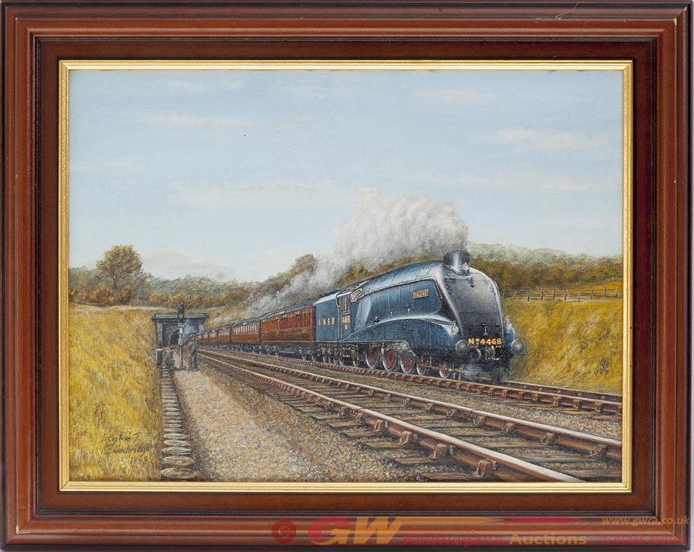 Original Painting. MALLARD 4468 By STEPHEN