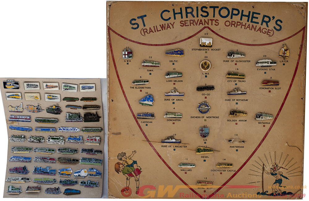 A Collection Of Approximately 49 Enamel Badges
