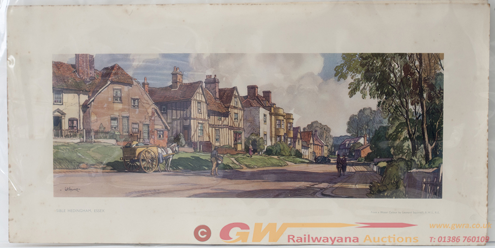 2 X Carriage Prints. EYNESFORD KENT And SIBLE