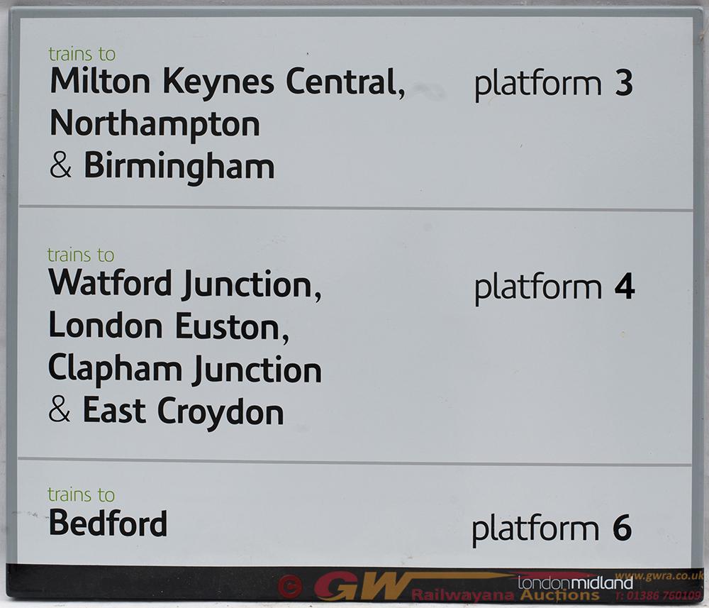 London Midland Fully Flanged Enamel. MILTON KEYNES