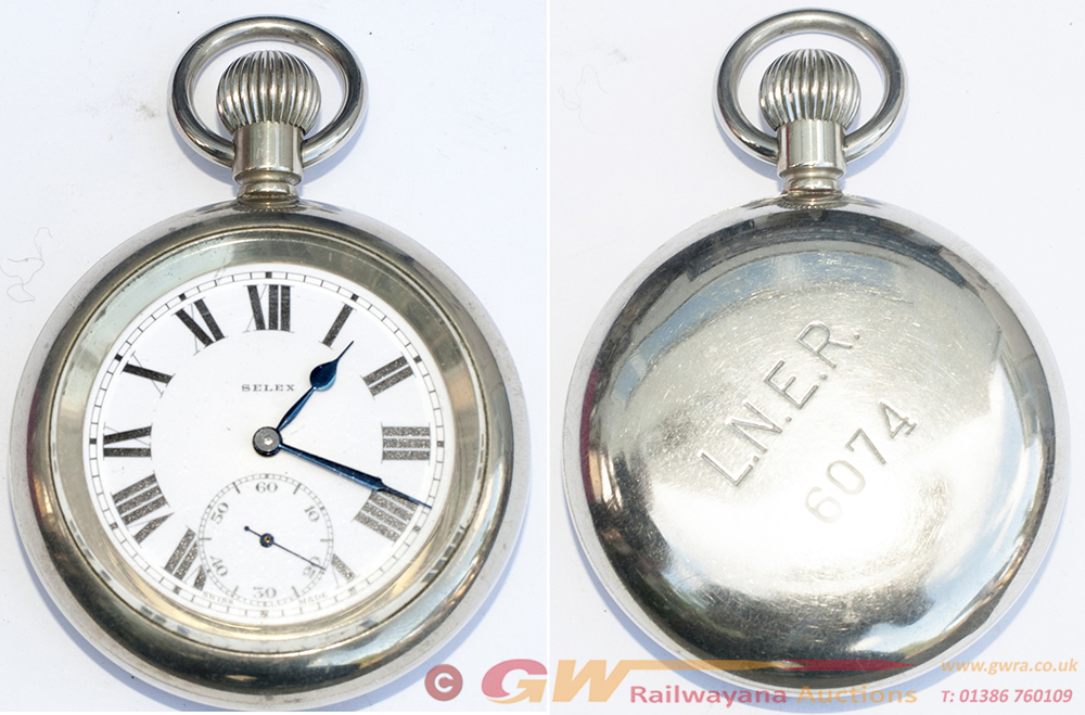 LNER Guards Pocket Watch No LNER 6074 Made By