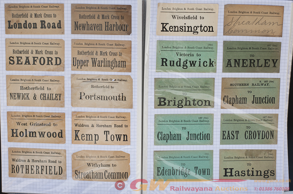 Approximately 200 LUGGAGE LABELS To Include LSWR,