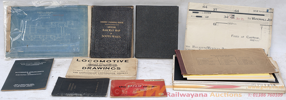 A Box Of Miscellaneous Paperwork To Include Depot