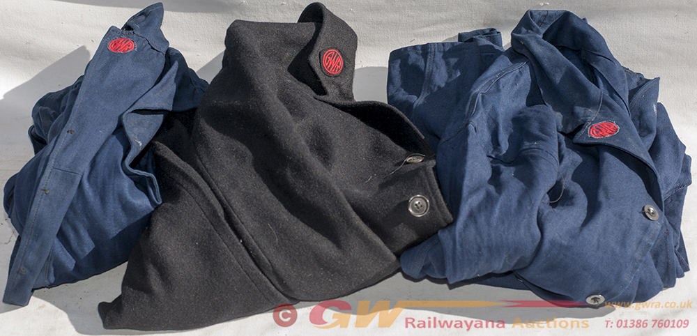4 X Pieces Of GWR Uniform. The Black Jacket Marked
