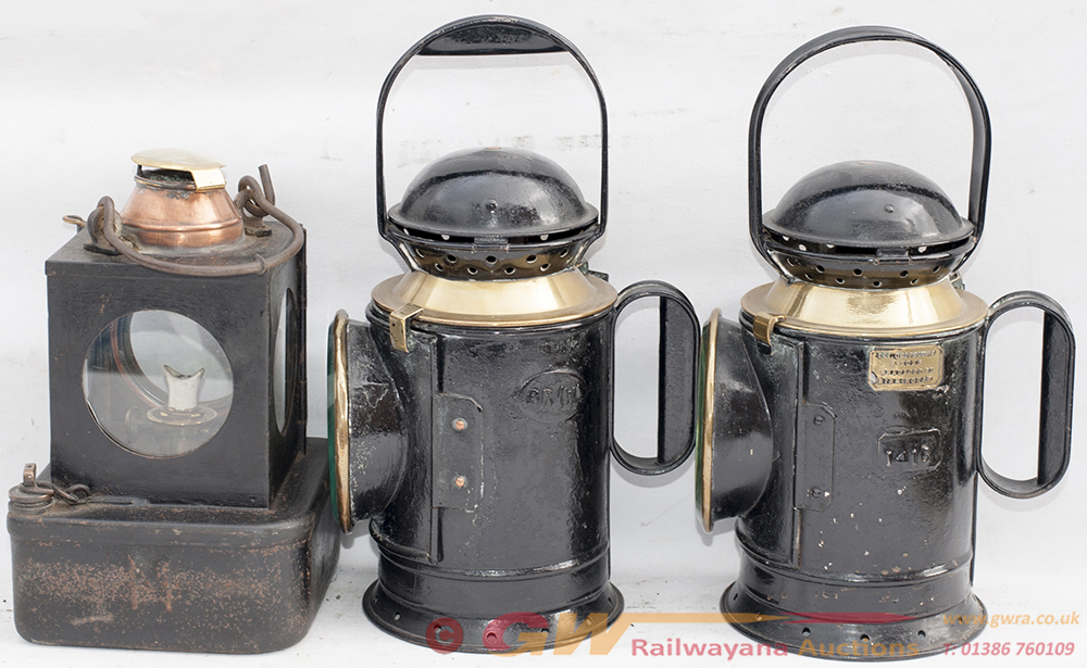 GWR Post Grouping 4 Aspect Hand Lamp Made By