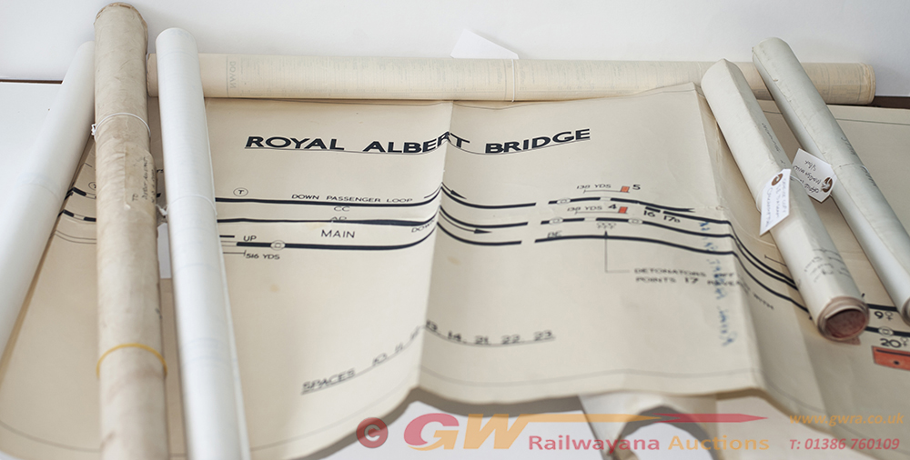 A Collection Of BR(W) Office Copy SIGNAL BOX