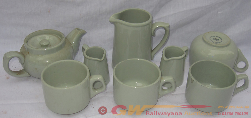 A Collection Of 1970s Railway China All Marked