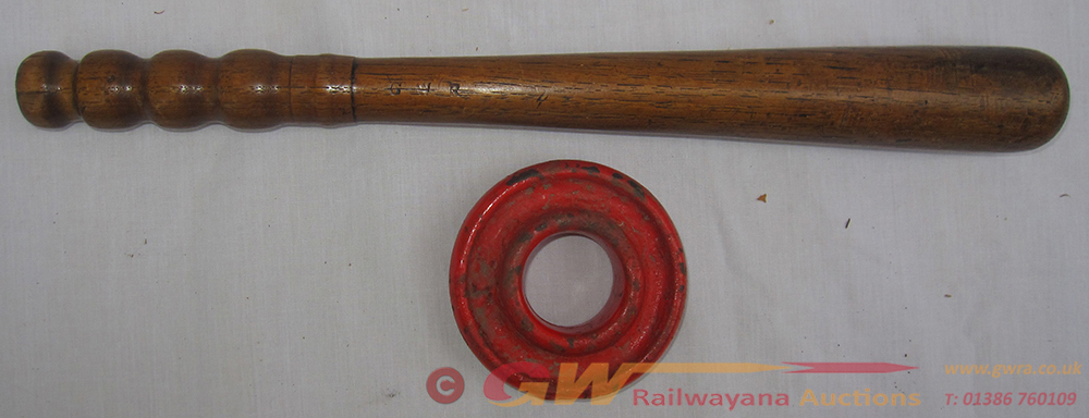 GWR Wooden Police Truncheon Stamped GWR Together