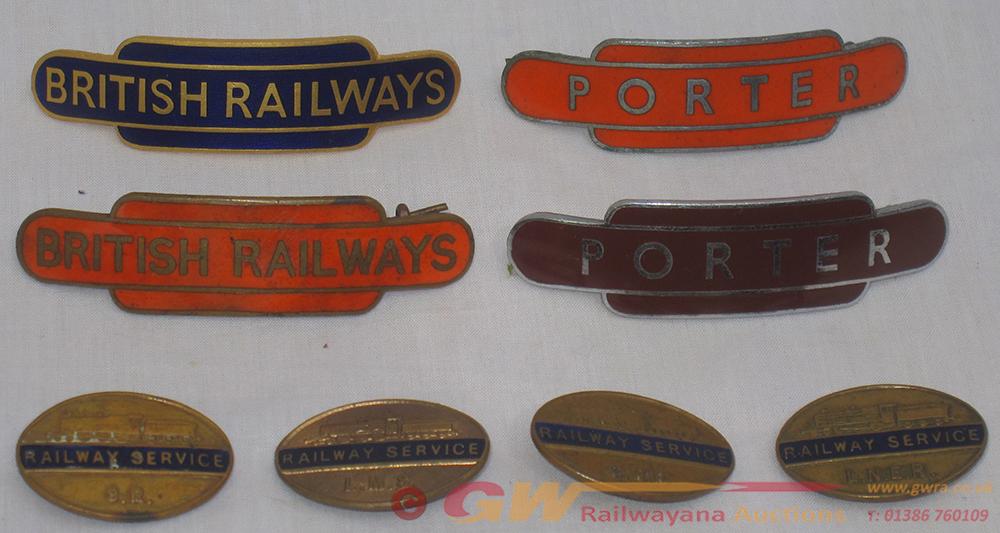 A Lot Containing 4 X British Railways Totem Cap