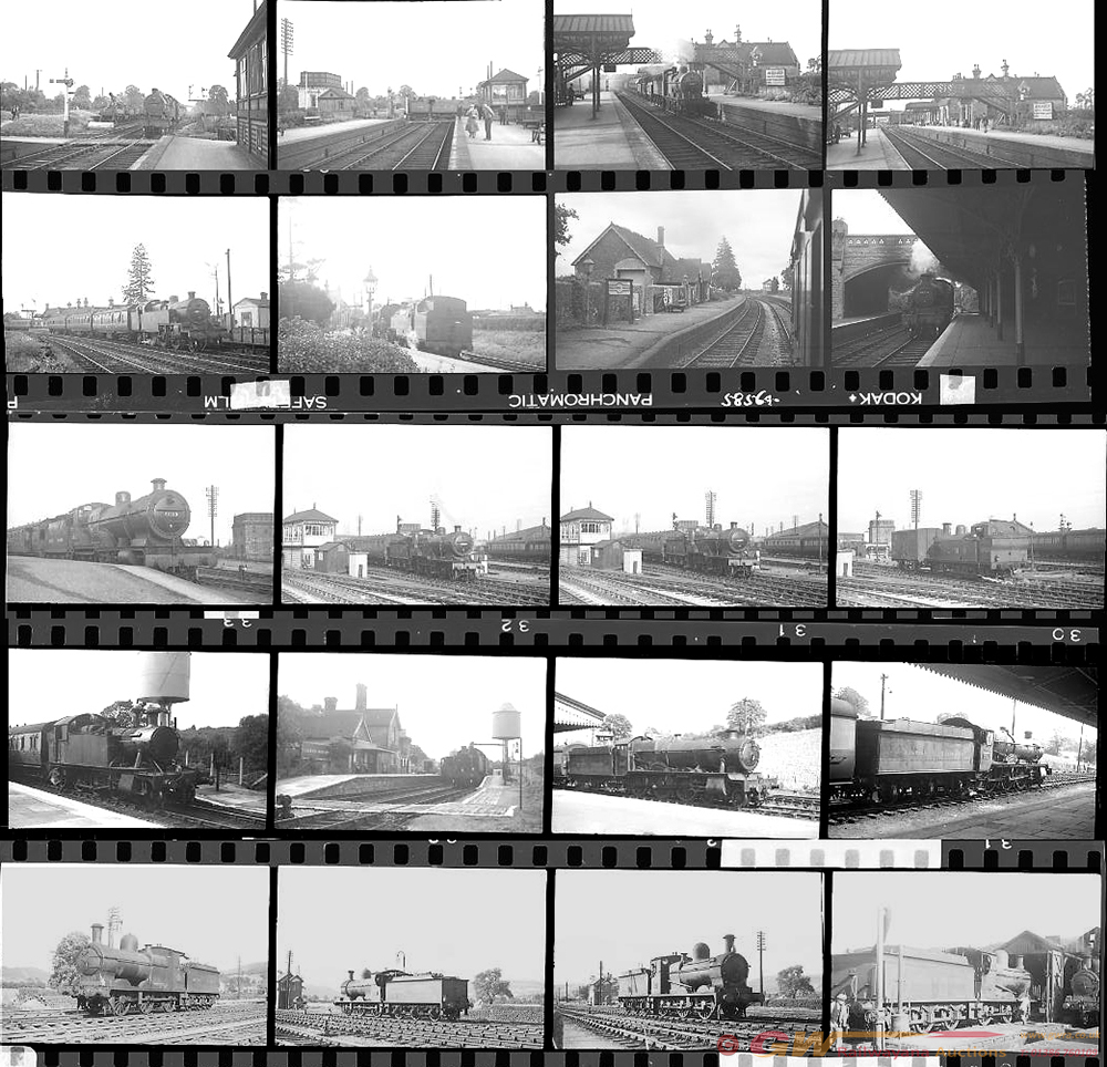 Approximately 105, 35mm Negatives. Includes