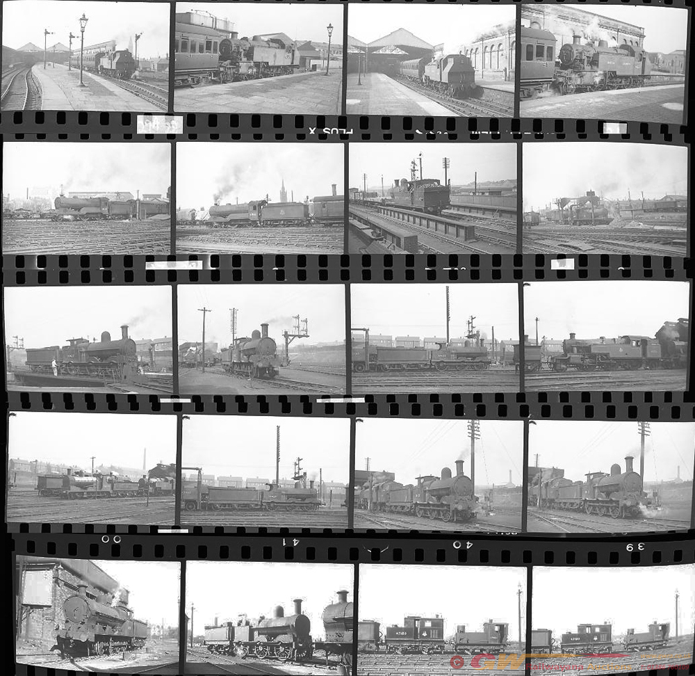 Approximately 140, 35mm Negatives. Includes Bury,
