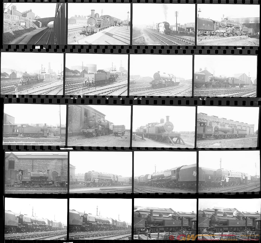 Approximately 120, 35mm Negatives. Includes Sutton