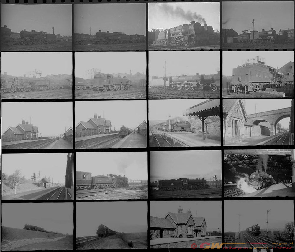 Approximately 110, 35mm Negatives. Includes