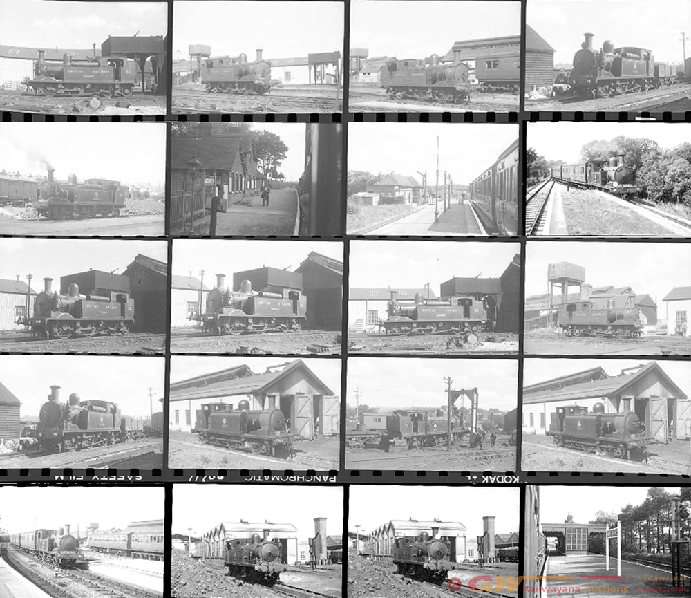 Qty 28 Isle Of Wight Rly, 35mm Negatives Taken On