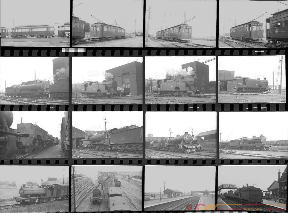 Approximately 109, 35mm Negatives. Includes