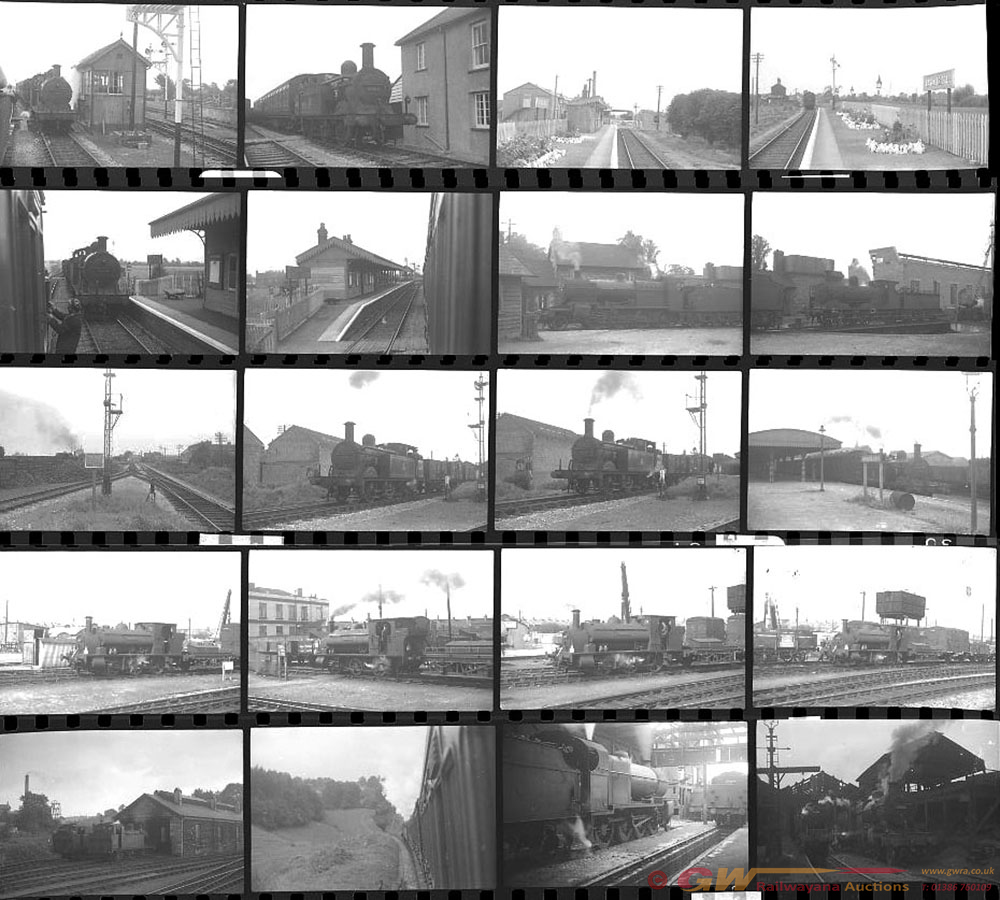 Approximately 68, 35mm Negatives. Includes S&DJR,