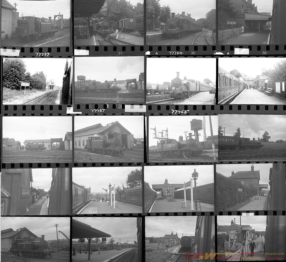 Approximately 42, 35mm Negatives Of The Isle Of