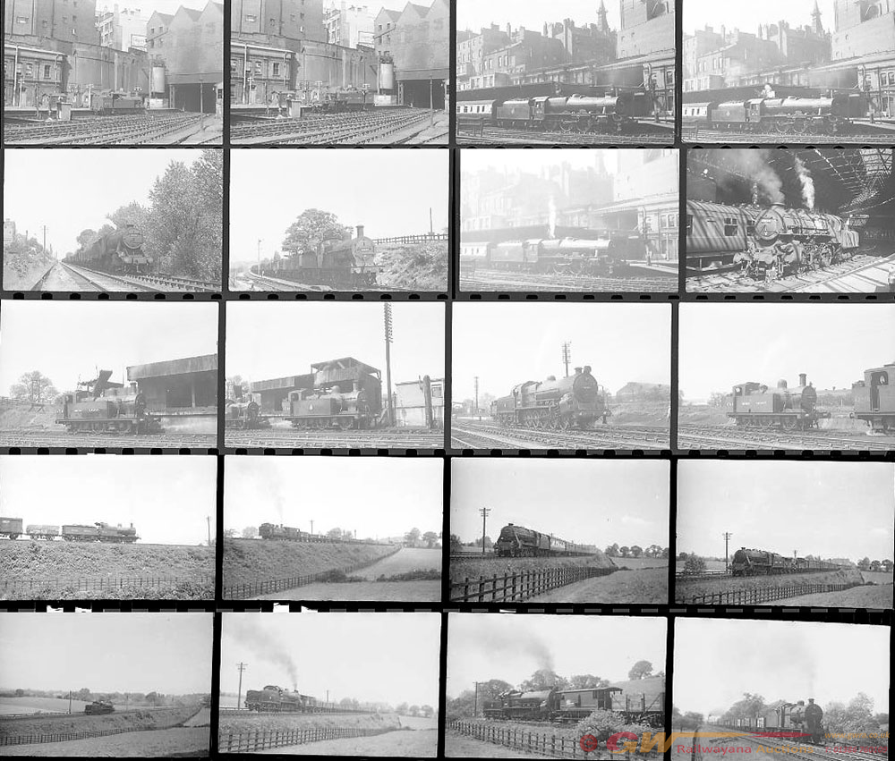 Approximately 62, 35mm Negatives. Includes New St,